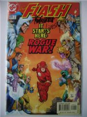 DC The Flash #220 Dynamic Forces DF Signed Howard Porter & Livesay COA Ltd 30